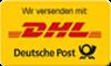 Wir versenden mit DHL | Deutsche Post